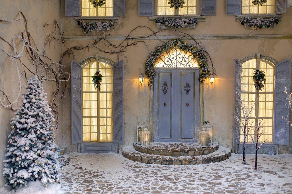 Julbelysning utomhus klassisk