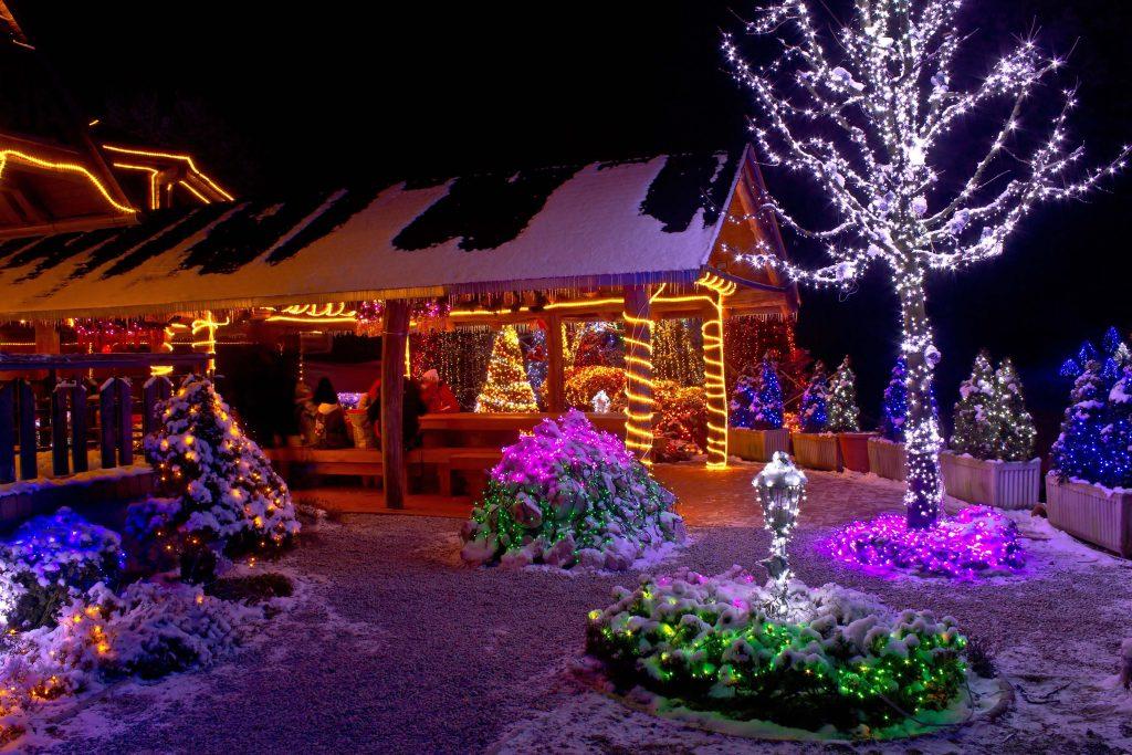 julbelysning utomhus amerikansk