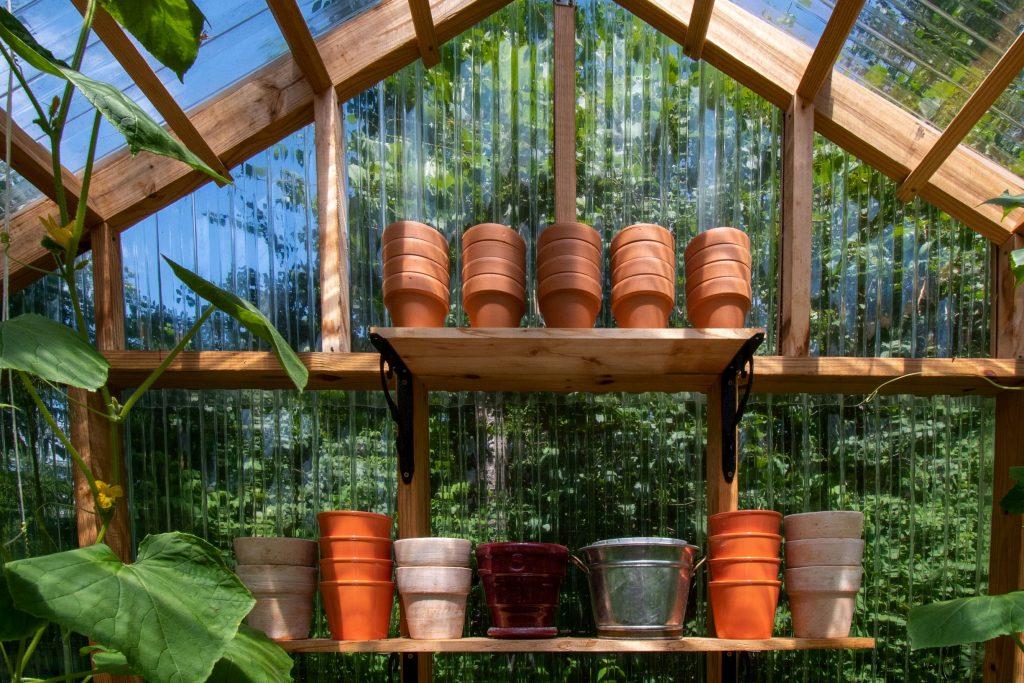 Växthus i plast