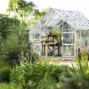Växthus i glas